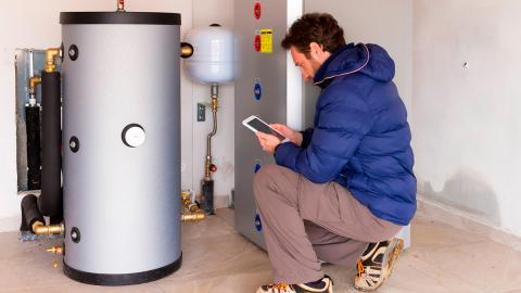 Arrancar una caldera de gasoil cuando se ha acabado el combustible