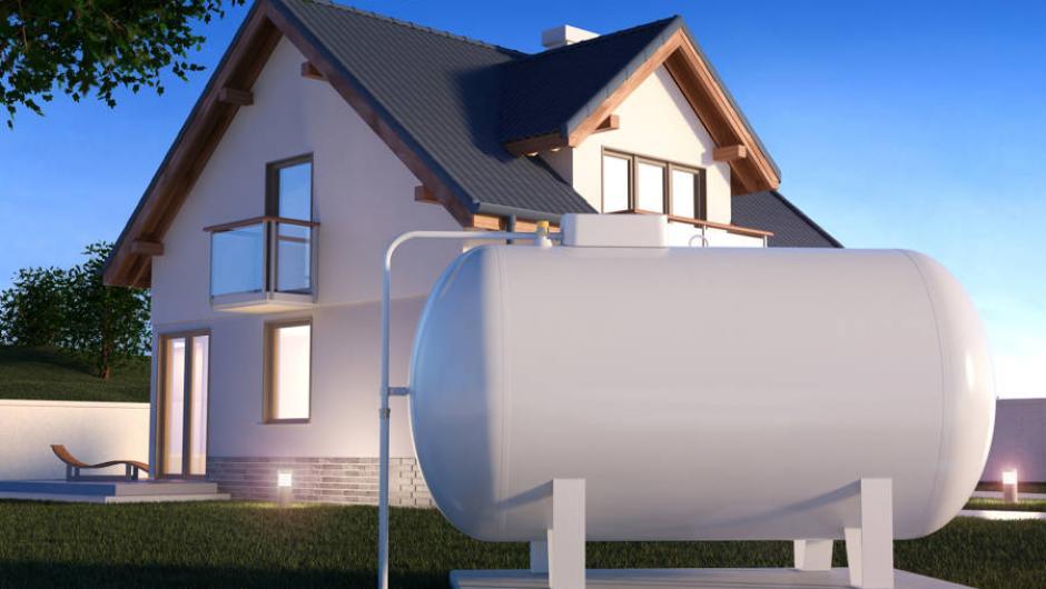 depósito de gasóleo calefacción